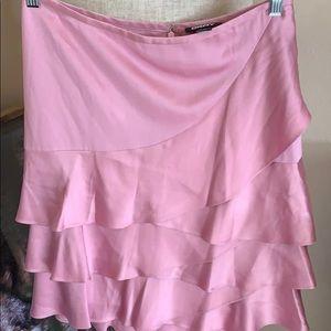 DKNY layered skirt